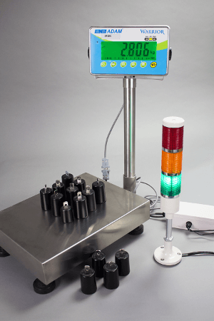 Warrior Checkweighing Scales with Light Tower