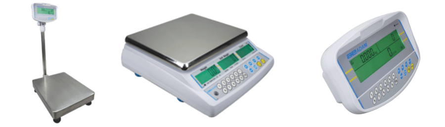 Bench Scales, Platform Scales and Weighing Indicators