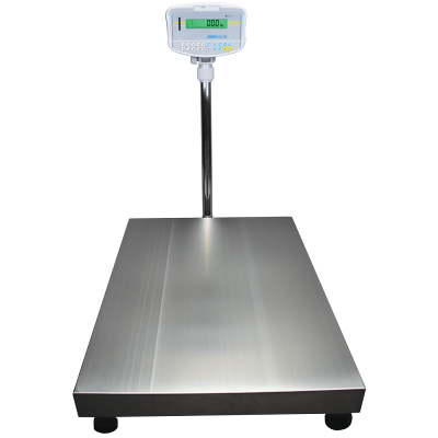 GFK floor checkweighing scale