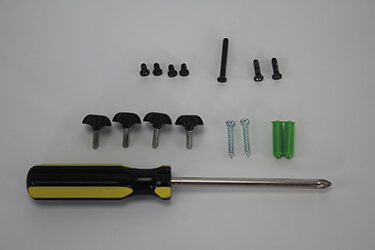 Screwdriver, Screws & Other Parts