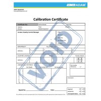Calibration Certificate for AELP, PT, PTS