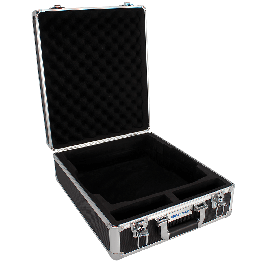 Hard carrying case with lock