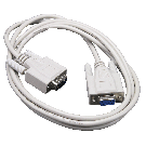 RS-232 Cable to 9pin D connector 1.5m (factory fitted)