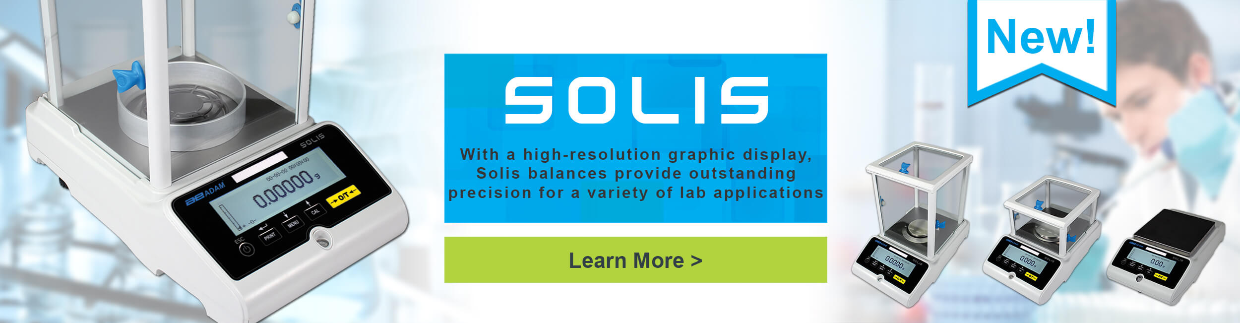 Solis - With a high-resolution graphic display, Solis balances provide  outstanding precision for