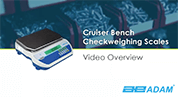 Cruiser CKT Checkweighing Scale Overview