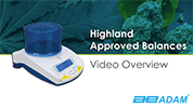 Highland Approved Precision Balance Overview