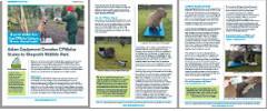 Adam Equipment Donates CPWplus Scale to Shepreth Wildlife Park