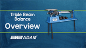 TBB Triple Beam Balance Overview